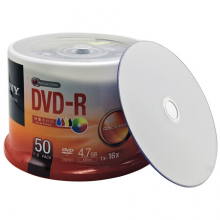 索尼DVD刻錄盤DVD-R(50片)