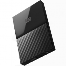 西部数据(WD)My Passport 1TB 2.5英寸 经典黑移动硬盘