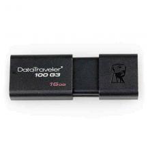 金士顿 DT100G3 U盘/优盘 16G (单位:个) 黑色